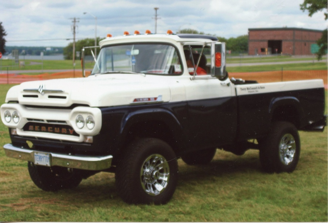 For sale: 1960 Mercury body on a 1991 Dodge RAM 350 - Terry McConnell